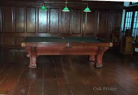 pool tables for sale rochester ny bbc rochester and pfister antique pool billiard table restoration