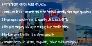 nippon paint malaysia putting colours on cars for over 40 years