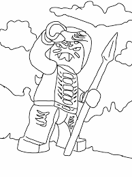 ninjago snake generals drawing lego ninjago coloring pages in lego