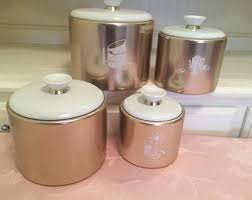 pink kitchen canisters pink canisters etsy