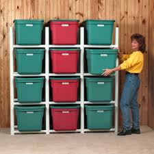 shelves amazing storage shelves for totes tote racking system