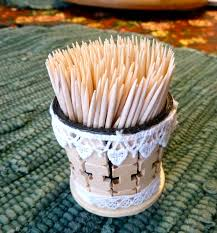 make it easy crafts k cup toothpick holder
