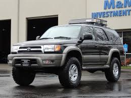 toyota 4runner 1999 limited 1999 toyota 4runner limited 4wd v6 leather diff lock lifted