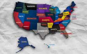 what nfl team has the most fans nationwide infographic jersey sales stats by state reveal interesting results