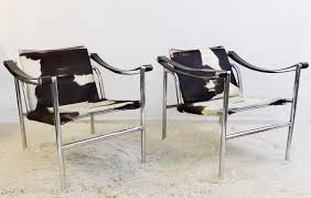 le corbusier lc1 lounge chairs 2 available armchair