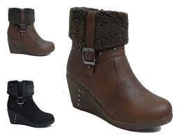 s boots wedge s wedge heel winter boots mount mercy