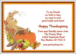 thanksgiving card sayings for businesses page 2