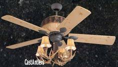 Lodge Ceiling Fans With Lights Rustic Ceiling Fans 52 Rustic Lodge Bronze 3