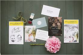 Playbill Wedding Programs Southern California Wedding Ideas And Inspiration Outdoor Estate