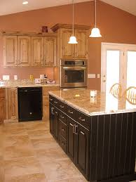 B Board Kitchen Cabinets Lec Cabinets Alder Kitchen With Bead Board Island