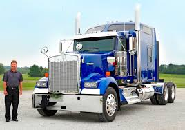 kenworth 18 wheeler for sale kenworth delivers first icon 900 overdrive owner operators