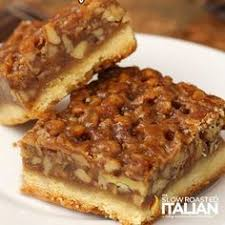 paula calls these best pecan pie bars cookies