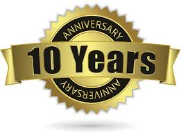 10 year anniversary ideas free 10th anniversary cliparts free clip free clip