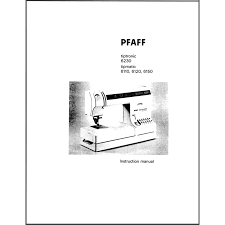 instruction manual pfaff tipmatic 6150 sewing parts online