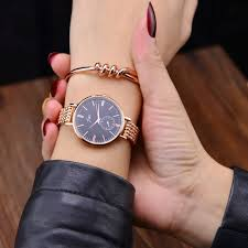 ladies rose gold bracelet watches images Fashion rose gold bracelet watches women luxury brand ladies ultra jpg
