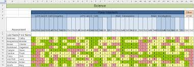 Grade Book Template Excel Excel For Educators Gradebook In The Cloud
