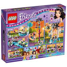 amazon com lego friends amusement park roller coaster 41130