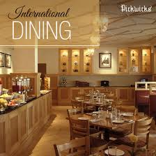 what is multi cuisine restaurant start your day with a hearty meal at pickwicks our multi cuisine