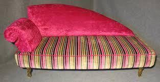 Pink Chaise Lounge Pink Italian Art Deco Velvet Chaise Lounge For Sale At Pamono