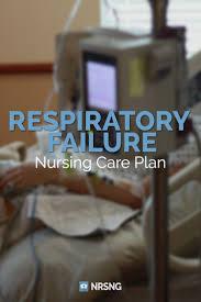 nursing care plan for respiratory failure nrsng