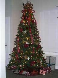 interior corner tree silver tree decorations musical