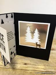 create and stamp merry little christmas card