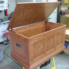 Making A Toy Box Plans by Handmade Oak Toy Chest By O U0027donnell Woodcraft Custommade Com