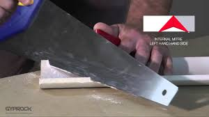 Gyprock Cornice Profiles Installing Gyprock Plasterboard How To Cut And Install Gyprock