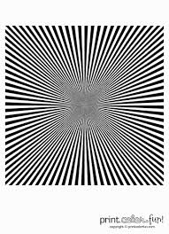 illusions coloring pages optical illusions converging stripes coloring page print color