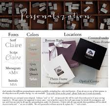personalized leather guest book italian leather guestbook by blue sky papers