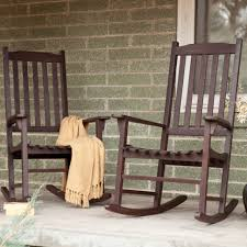 Black Rocking Chairs Lowes Outdoor Outdoor Patio Rockers Black Outdoor Rocker White Wicker