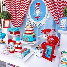dr seuss party sweet table from a dr seuss birthday party on kara s party ideas