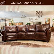 Full Grain Leather Sofa Furniture Custom Made Scottsdale Art - Full leather sofas
