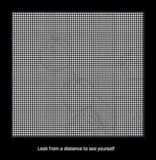 Distance Meme - look from a distance to see yourself when you see it know