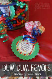 inexpensive party favors dum dum birthday party favor wait til your gets home