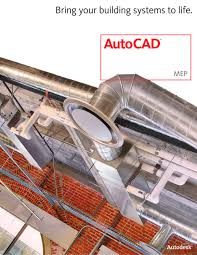 autocad mep brochure autodesk pdf catalogue technical
