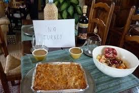 thanksgiving italian style genius loci