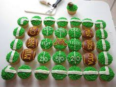 football cupcakes football cupcakes football cupcakes march and recipes