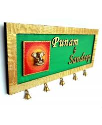 Personalised Customized Name Plate Online - Designer name plates for homes