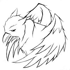 griffin tattoo by midnight53 on deviantart
