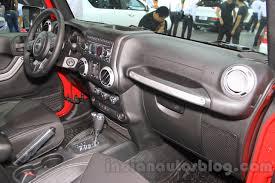 jeep wrangler custom dashboard jeep wrangler unlimited sahara u2013 2015 chengdu motor show