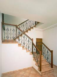 Wrought Iron Banister Rails Wrought Iron Railing With Bars Indoor For Stairs Ringhiere