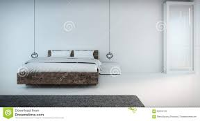 Minimal Bedroom Minimal Bedroom On Seaview Stock Illustration Image Of Bedroom