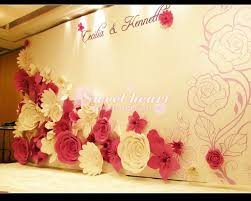 wedding backdrop font diy paper flowers tìm với decor home