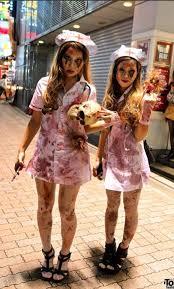 Girls Zombie Halloween Costume Zombie Nurse Costume Costume Makeup Zombie