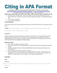 Resume Reference Page Sample by Brilliant Ideas Of Apa Style Reference Page Template For Your