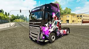 volvo truck 2017 skin league of legends on a volvo truck for euro truck simulator 2
