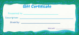 online restaurant gift cards 28 cool printable gift certificates baby