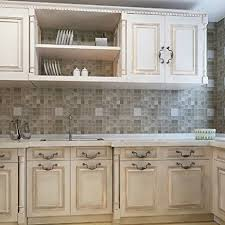 removable kitchen backsplash amazon com chinatera peel and stick tile kitchen backsplash