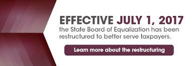 board of equalization u2013 state of california